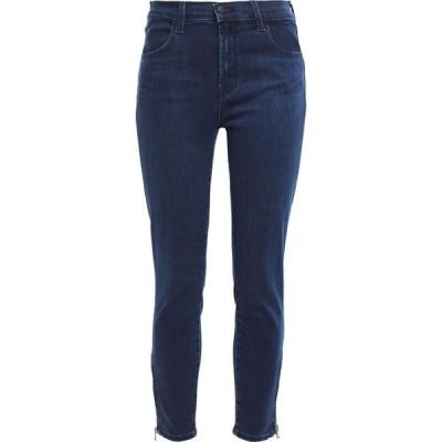 ジェイ ブランド J BRAND レディース ジーンズ・デニム ボトムス・パンツ cropped high-rise slim-leg jeans Mid denim