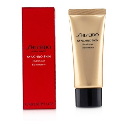 資生堂 ブロンザー&ハイライター Shiseido フェイスカラー シンクロ スキン イルミネーター #Rose Gold 40ml 誕生日プレゼント