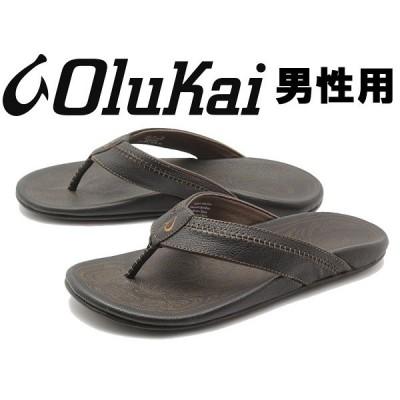 オルカイ ヒアポ 男性用 OLUKAI HIAPO 10101 メンズ サンダル ブラックxブラック(01-13960200)