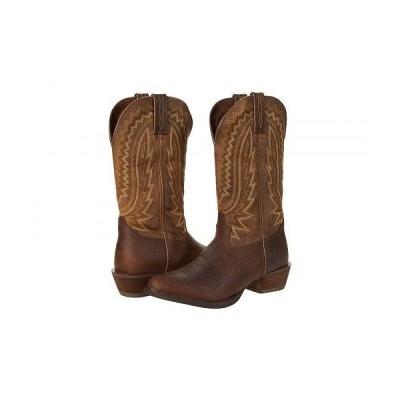 "Durango デュランゴ メンズ 男性用 シューズ 靴 ブーツ ウエスタンブーツ Rebel Frontier 13"" R Toe - Flaxen Brown"