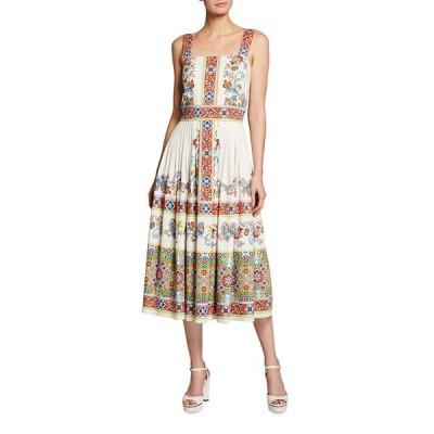 ショシャーナ レディース ワンピース トップス Almma Printed Midi Dress