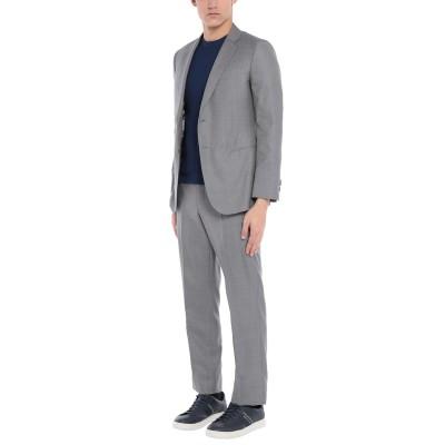 ジョルジオ アルマーニ GIORGIO ARMANI スーツ グレー 54 バージンウール 85% / シルク 15% スーツ