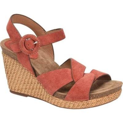 ソフト レディース サンダル シューズ Casidy Wedge Ankle Strap Sandal