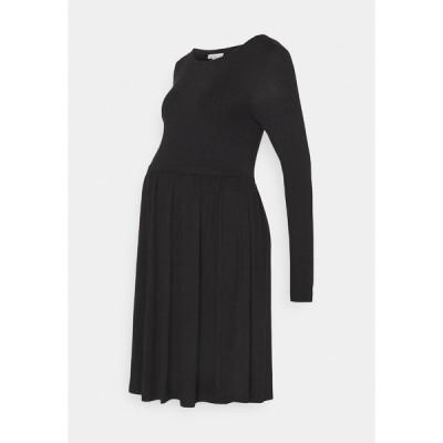 アンナ フィールド ママ ワンピース レディース トップス Jersey dress - black