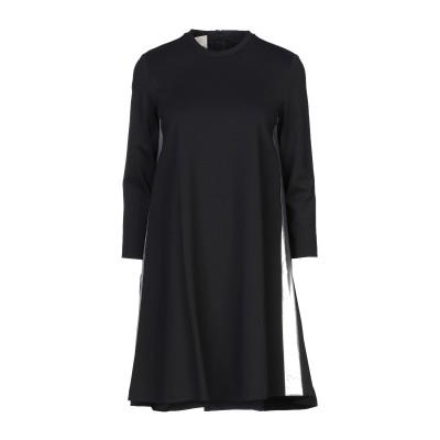 ピンコ PINKO ミニワンピース&ドレス ブラック 40 レーヨン 65% / ナイロン 30% / ポリウレタン 5% / ポリウレタン ミニワ