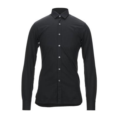 ランバン LANVIN シャツ ブラック 37 コットン 100% シャツ