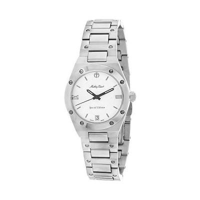 MATTHEY-TISSOT Women's Eliser Quartz Stainless Steel Strap, Silver, 16 Casual Watch (Model: D680SE)
