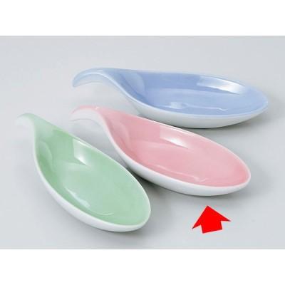 和食器 珍味 小鉢 小付/ 木の葉珍味 ピンク(315-02) /松花堂 陶器 業務用 家庭用 Small Bowl for Delicacies ポイント消化