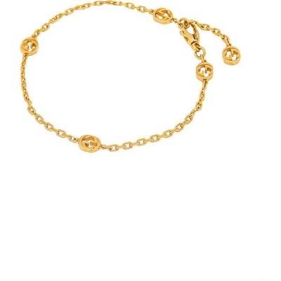 グッチ Gucci レディース ブレスレット ジュエリー・アクセサリー interlocking g bracelet Gold