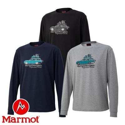 (Marmot) ドライブン マーヴィン ロングスリーブ クルー (メンズ/長袖 Tシャツ) TOMQJB52 マーモット