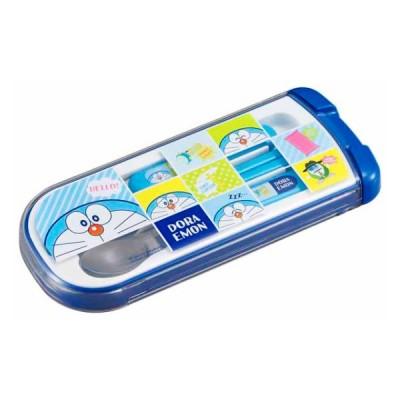 メール便発送 トリオセット ドラえもん 子供 男の子 食洗機対応 スプーン フォーク 箸 セット カトラリー OSK CT-20