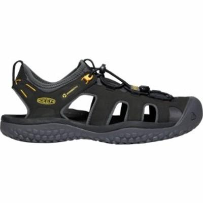 キーン Keen メンズ サンダル シューズ・靴 KEEN SOLR Sandals Black/Gold