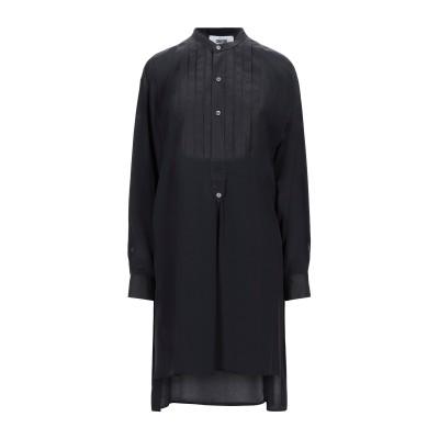 マウロ グリフォーニ MAURO GRIFONI ミニワンピース&ドレス ブラック 42 アセテート 69% / シルク 31% ミニワンピース&ド