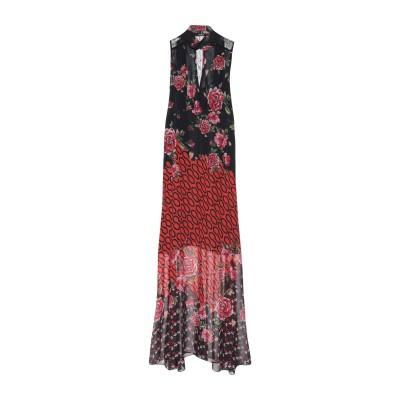 ゲス GUESS ロングワンピース&ドレス ブラック S ポリエステル 100% ロングワンピース&ドレス