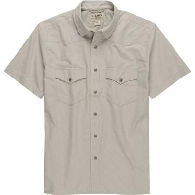 フィルソン メンズ シャツ トップス Snap Front Short-Sleeve Shirt