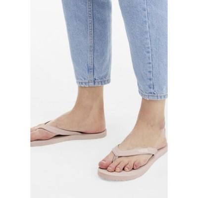 プーマ レディース 靴 シューズ COSY FLIP - T-bar sandals - rose water/white