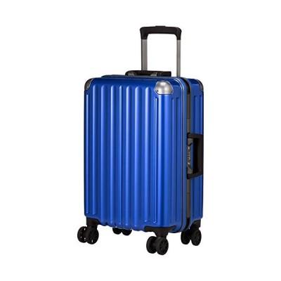 エー・エル・アイ スーツケース ハードキャリー 機内持ち込み可 32L 3.3kg ブルー