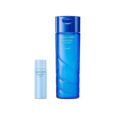 AQUALABEL(アクアレーベル) (医薬部外品) ホワイトケア ローション M セットC 化粧水みずみずしいしっとりタイプ) 200mL+18mL