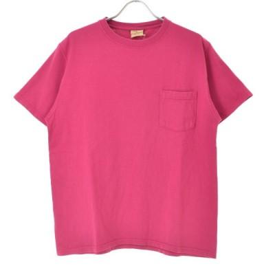 Good wear / グッドウェアー ポケット付 クルーネック 半袖Tシャツ