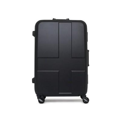 【カバンのセレクション】 イノベーター スーツケース Lサイズ フレームタイプ 軽量 大型 大容量 innovator 90L inv-68 ユニセックス ブラック系1 フリー Bag&Luggage SELECTION