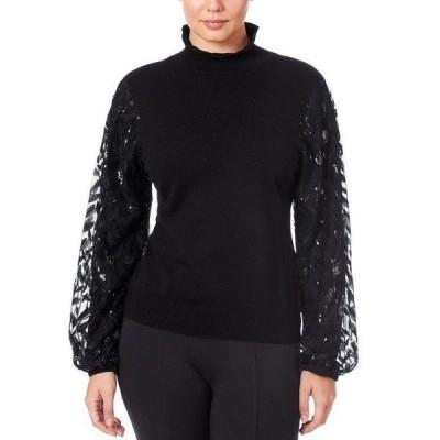 ジョセフ ニット&セーター アウター レディース Women's Mixed Media Sweater Black