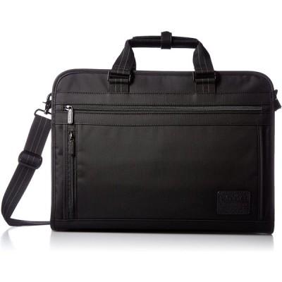 [アメリカンツーリスター] ビジネスバッグ ブリーフケースL クワドラ ブラック