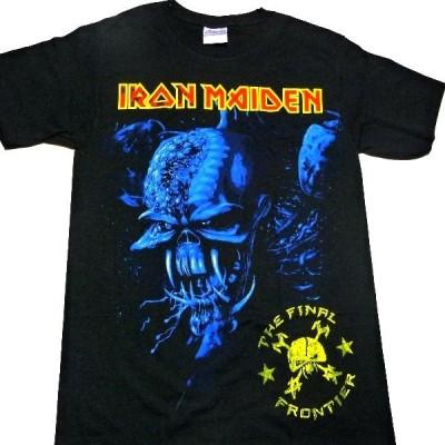 【メール便対応可】IRON MAIDEN アイアンメイデン  Final Frontier Blue Cover  オフィシャル バンドTシャツ