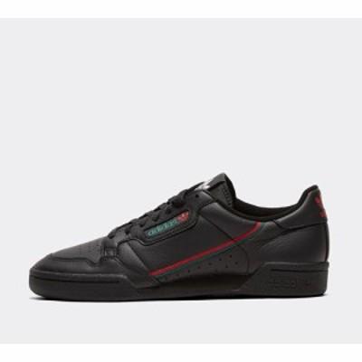 アディダス adidas Originals メンズ スニーカー シューズ・靴 continental 80 trainer Core Black/Scarlett/Green