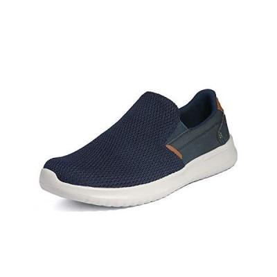 Bruno Marc Men's Slip On Walking Sneaker Shoes Lightweight Work Shoe Casual Loafer Walk-Work-02 Navy Size 12 M US【並行輸入品】