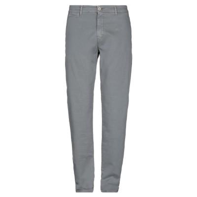 LIU •JO MAN パンツ 鉛色 56 コットン 97% / ポリウレタン 3% パンツ