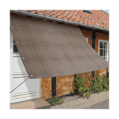 日除けシェード ベランダ (100×200cm)日よけスクリーン サンシェード オーニング 庭用サンシェード 外付け