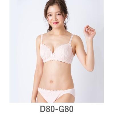 fran de lingerie / Cotton Dragee コットンドラジェ ペアブラジャー D80-G80カップ WOMEN アンダーウェア > ブラ&ショーツ