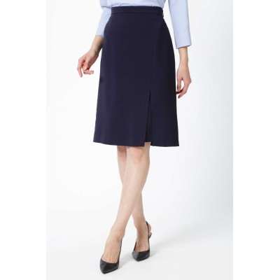 NATURAL BEAUTY ナンナストレッチAラインスリットスカート