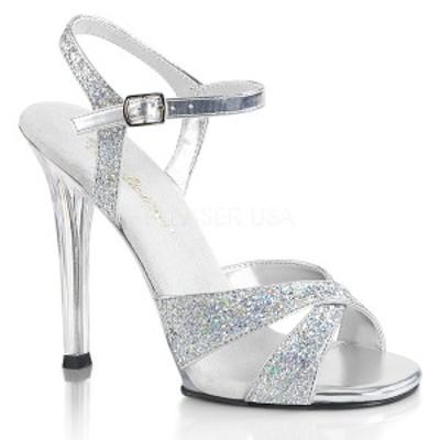 Fabulicious GALA-19 4 1/2inch Heel Criss Cross Ankle Strap Sandal◆取り寄せ
