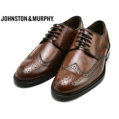 ジョンストン&マーフィー ウィングチップ JOHNSTON&MURPHY DALEY WINGTIP TAN