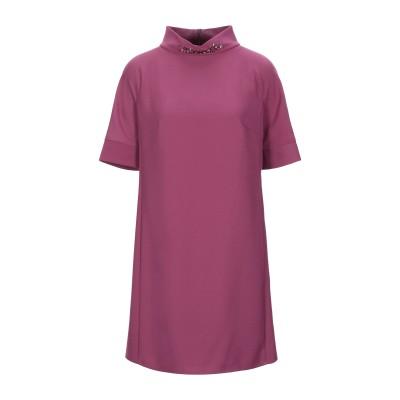 ブルーガール ブルマリン BLUGIRL BLUMARINE ミニワンピース&ドレス モーブ 40 ポリエステル 100% ミニワンピース&ドレス