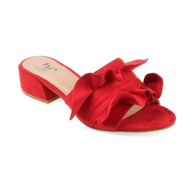 ジャーニーコレクション サンダル シューズ レディース Women's Sabica Mules Red
