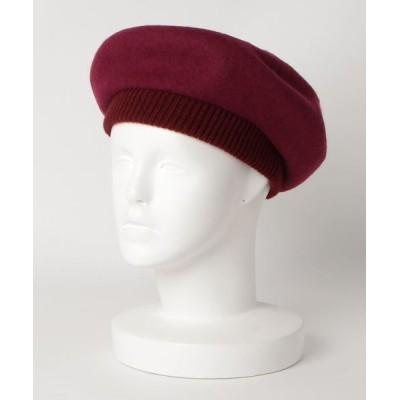 FUNALIVE / 【SI Original】リブニットパイピング バスクベレー MEN 帽子 > ハンチング/ベレー帽