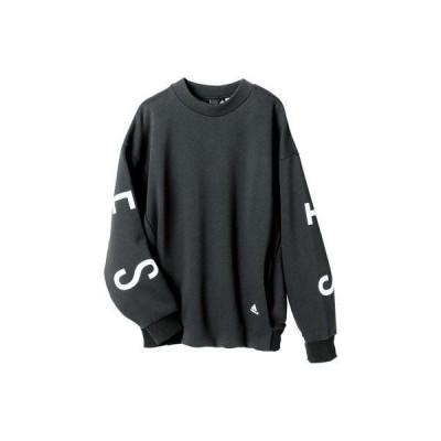 ラナン Ranan 〈adidas〉クルースウェット (ブラック)