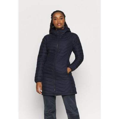 コロンビア レディース スポーツ用品 POWDER LITE MID JACKET - Winter coat - dark nocturnal