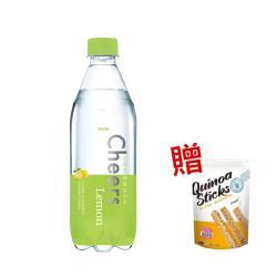 泰山 Cheers Lemon檸檬氣泡水 590ml(24入/箱)
