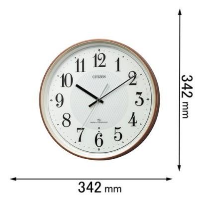 時計 掛け時計 シチズン 電波掛け時計 CITIZEN 4MY861-006 【返品種別A】