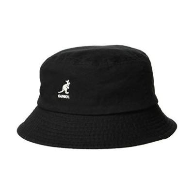 [カンゴール] バケットハット Washed Bucket 100169215 (ブラック L)