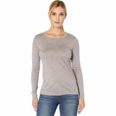 ペンドルトン Pendleton レディース 長袖Tシャツ トップス Long Sleeve Merino Tee Soft Grey Heather
