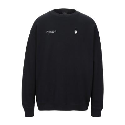 マルセロ ブロン MARCELO BURLON スウェットシャツ ブラック XXS コットン 100% / ポリウレタン スウェットシャツ