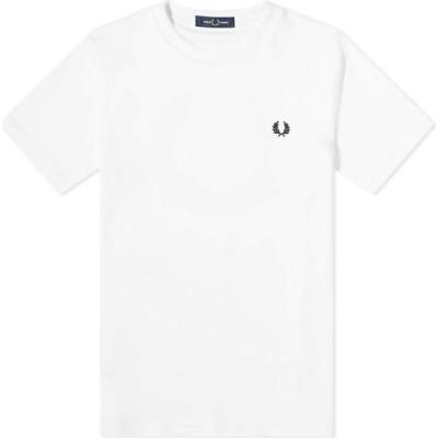 フレッドペリー Fred Perry Authentic メンズ Tシャツ トップス Laurel Wreath Tee Snow White