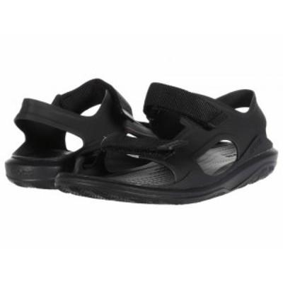 crocs クロックス メンズ 男性用 シューズ 靴 サンダル Swiftwater Expedition Sandal Black/Black【送料無料】