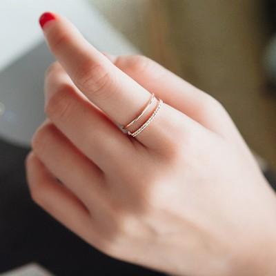 S925 定番 アイテム シンプルデザイン感 リング ファッション 指輪 指輪??リング