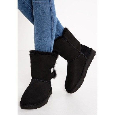 アグ ブーツ&レインブーツ レディース シューズ BAILEY - Winter boots - black