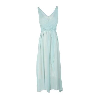 POMANDÈRE 7分丈ワンピース・ドレス ライトグリーン 42 レーヨン 100% 7分丈ワンピース・ドレス
